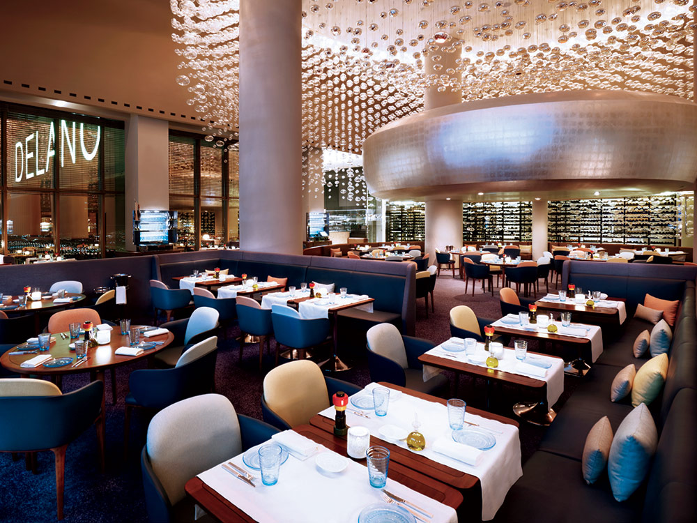 Alain ducasse opens rivea restaurant in former mix space for Rivea restaurant