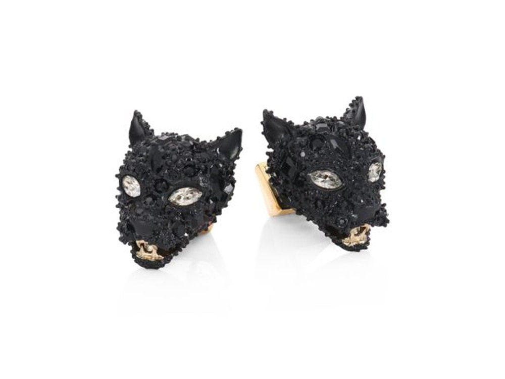 Alexis Bittar Panther Earrings