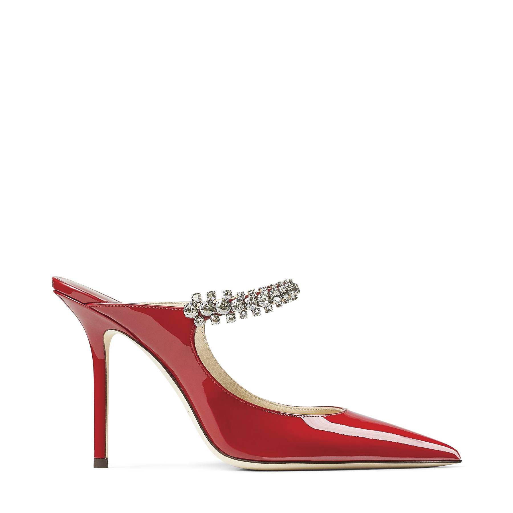 Jimmy Choo's Bing 100 patent pumps