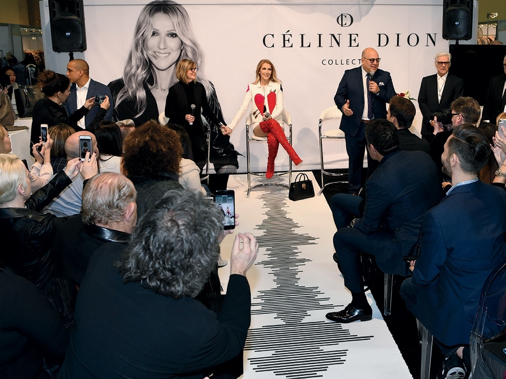Celine Dion Unveils More Than 200 Pieces From Her New Handbag Line