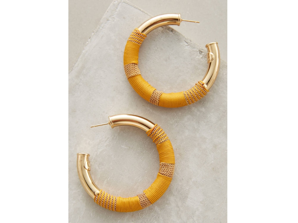 Gas Bijoux Porto Hoop Earrings