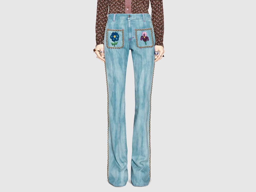 Gucci-Embroidered-Floral-Studded-Jeans.