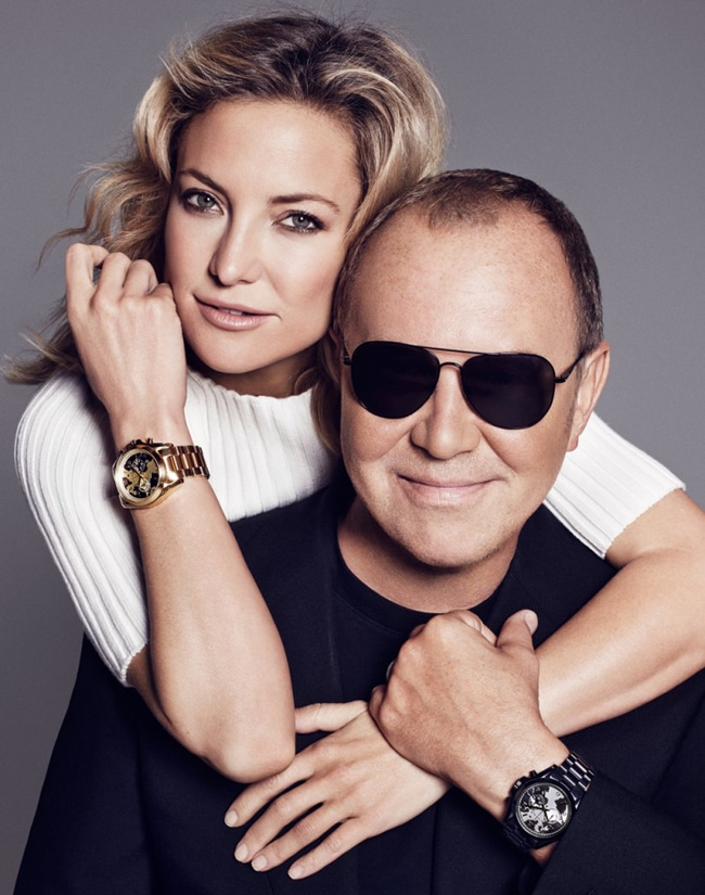 Kate Hudson and Michael Kors.