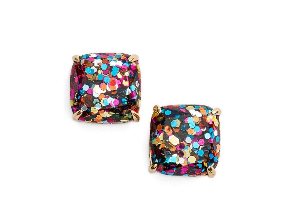kate Spade Marble Stud Earrings