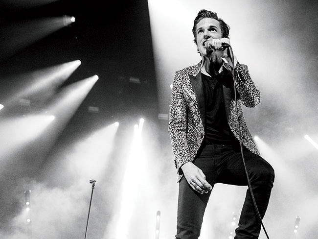 The Killers' Brandon Flowers will perform solo.