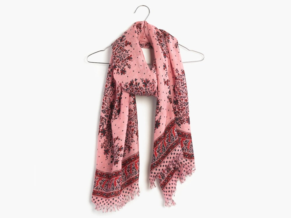 Madewell Floral Print Scarf