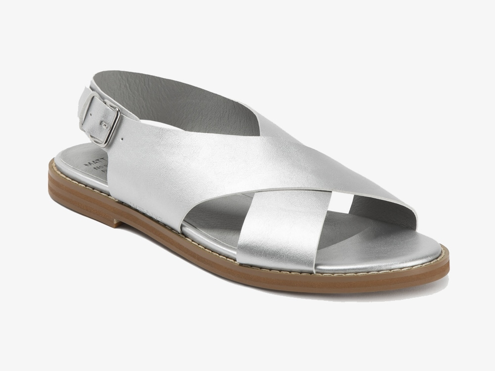 Matt & Nat Villeray Silver Sandals