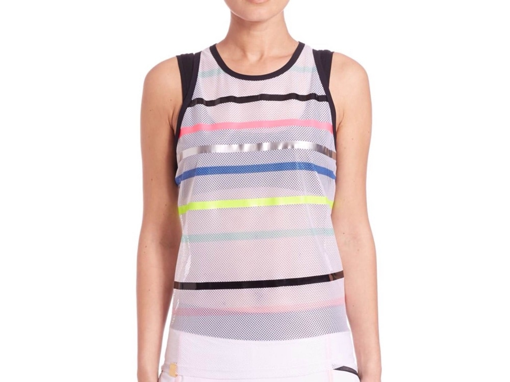 Monreal London Striped Airstream Tank Top
