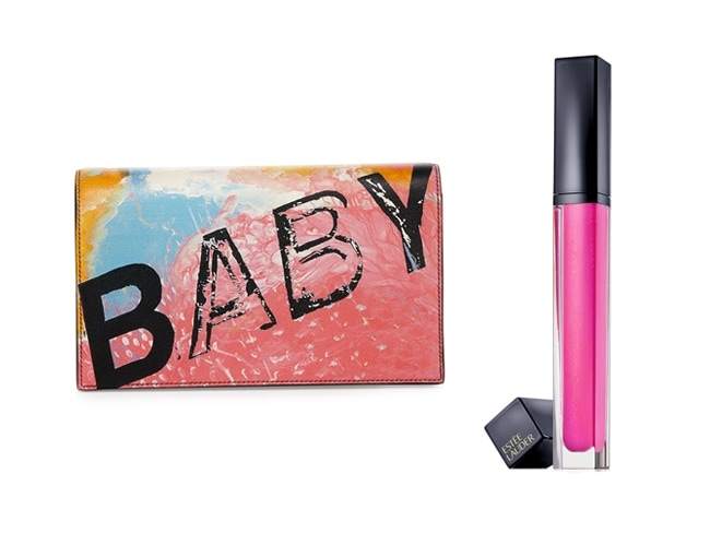 Saint Laurent Baby Clutch and Pure Envy Lip Gloss