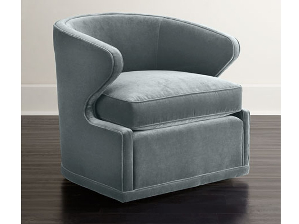 Swivel chair from Neiman Marcus.