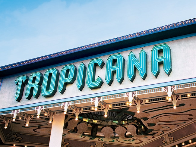 The historic Tropicana casino resort, now with a new owner.