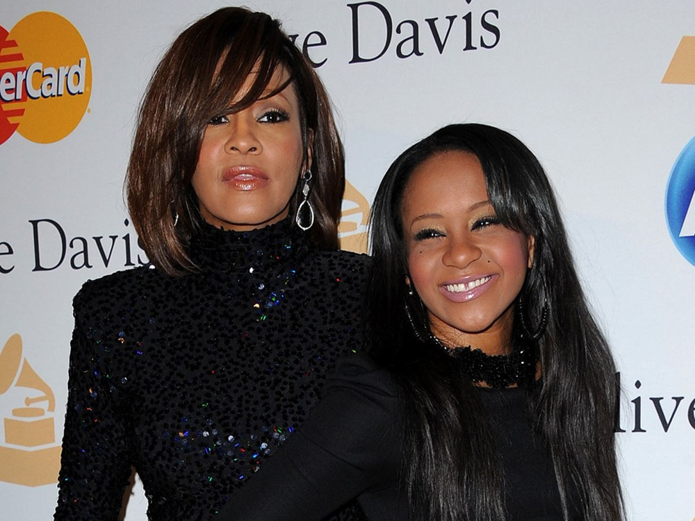 Whitney Houston and Bobbi Kristina Brown.