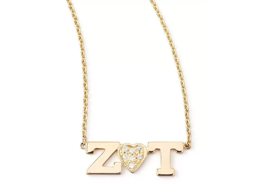 Zoe Chicco Personalized Necklace