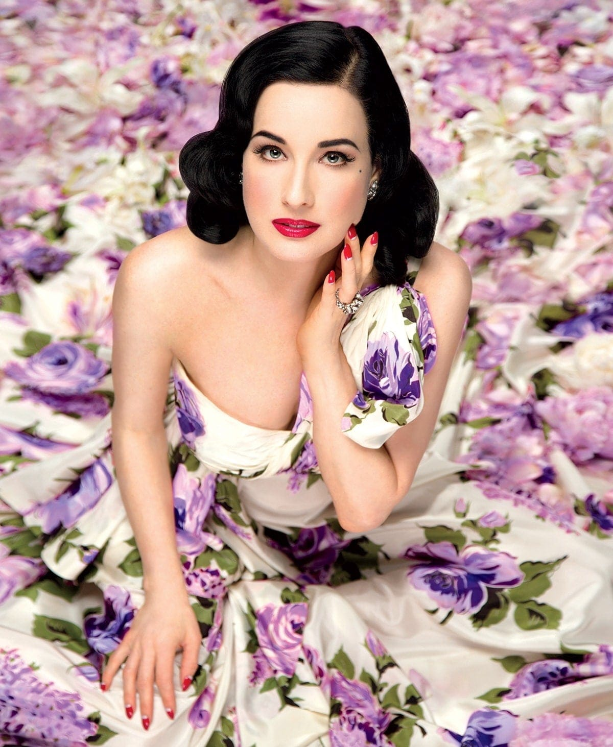 Dita Von Teese on Her New Beauty Book and Why She Wants to Look Like ... Dita Von Teese