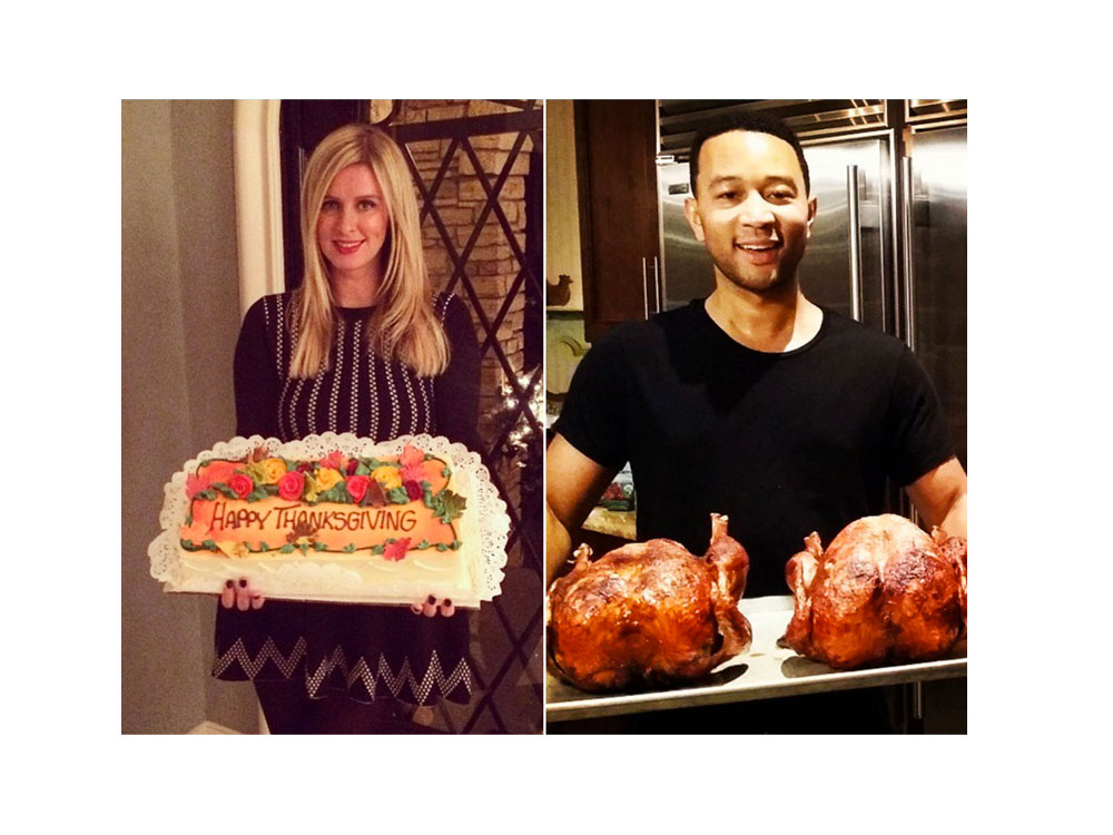 How 9 Celebrities Celebrate Thanksgiving