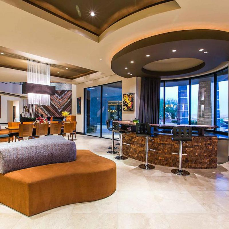 Vegas Properties on the Market With in-Home Bars