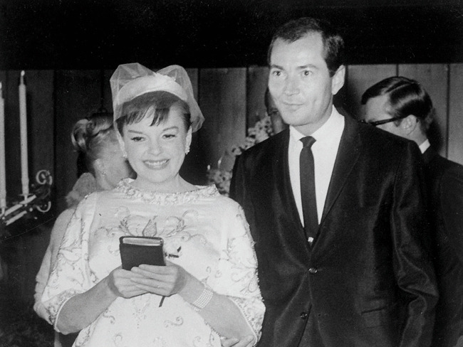 Image result for judy garland and mark herron 1963