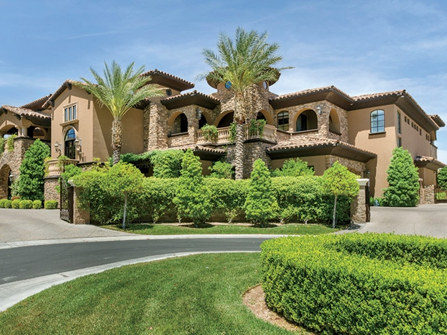 The Real Estate Palaces Of Las Vegas