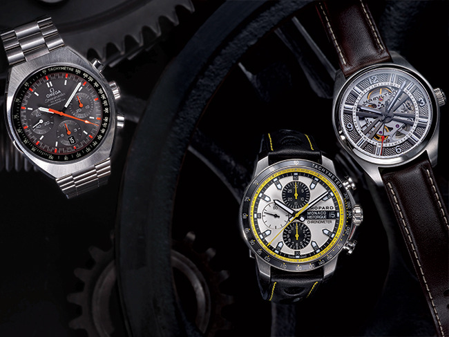 3 - Men's Watches Inspired by Human Achievements