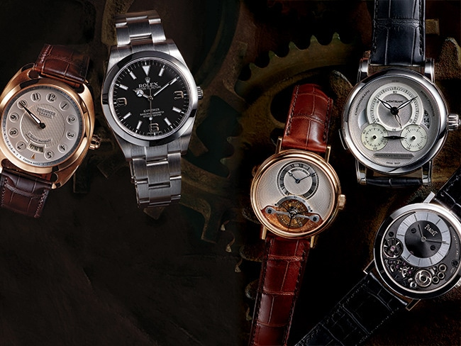 2 - Men's Watches Inspired by Human Achievements