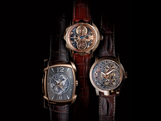 1 - 3 Eye-Catching Skeleton Watches