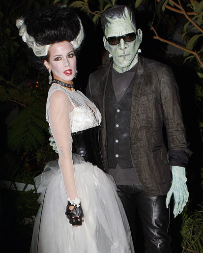 4 - 10 Most Outrageous Celebrity Halloween Cos…