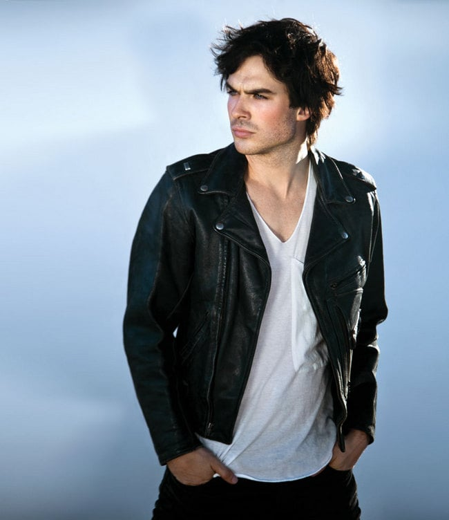 1 - The Vampire Diaries' Ian Somerhalder Gets Hungry