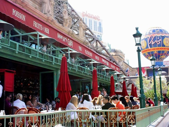 3 - 9 Vegas Restaurants With Prime Outdoor Spaces
