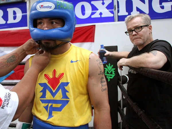 1 - Freddie Roach Talks Training Pacquiao for…