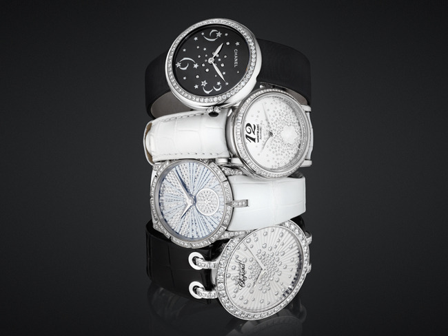 1 - 4 Diamond-Covered Watches