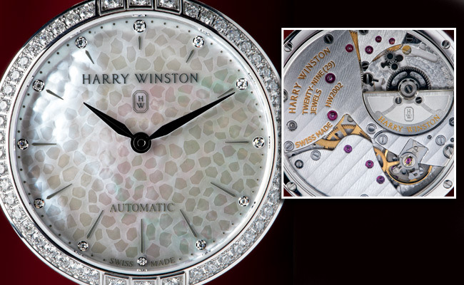 1 - New Harry Winston Gem-Encrusted Watch