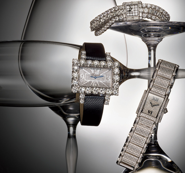 1 - 3 Diamond-Encrusted Watches