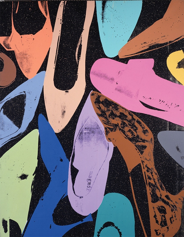 1 - Andy Warhol's 'Diamond Dust Shoes'